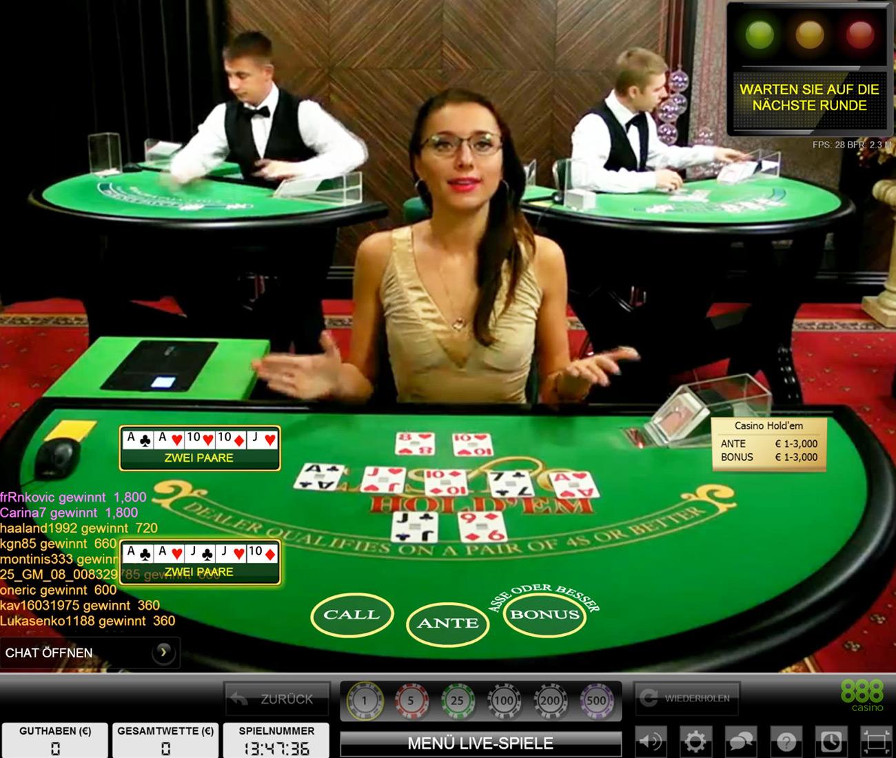 888 Casino Online Spielen