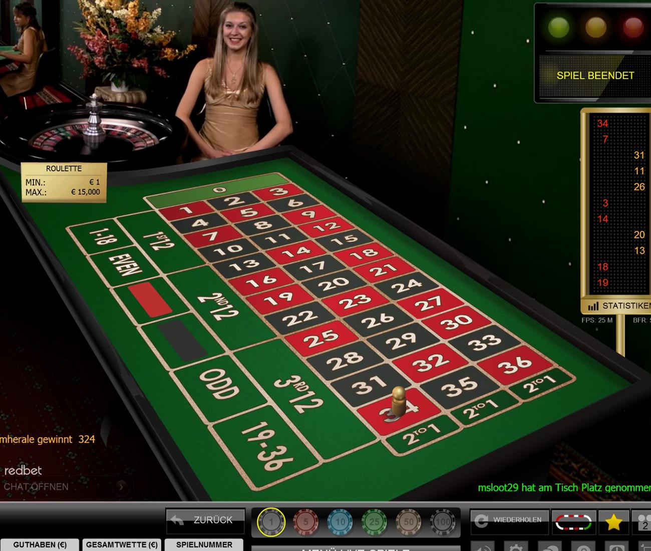 Redbet Live Casino Spiele Von Top Software Providern
